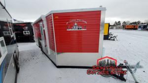 8' wide single axle Ice Castles
