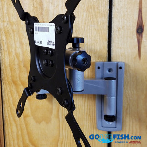 Fish House TV Mount Lockable